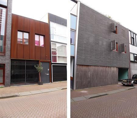 Две фасади откъм улицата