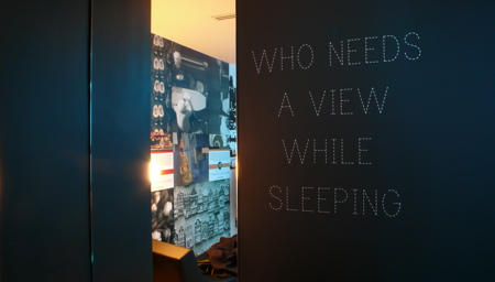Who needs a view while sleeping