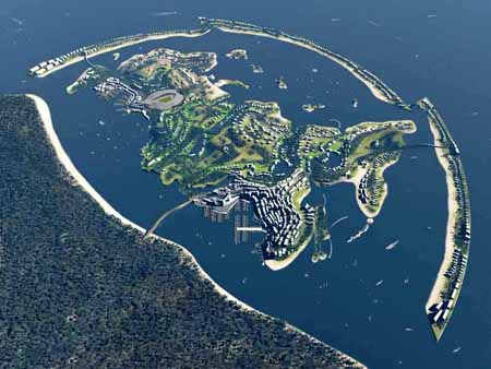 Изкуственят архипелаг до Сочи