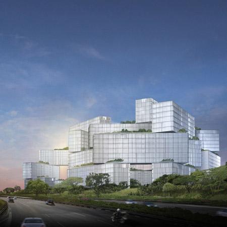 Жилищен комплекс в Сингапур от OMA