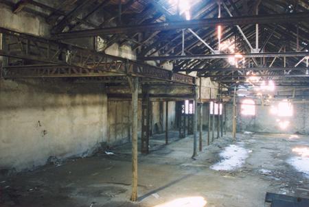 Захарна фабрика - хале