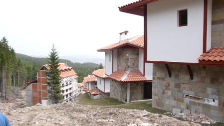 Вилно селище в Пампорово - детайли