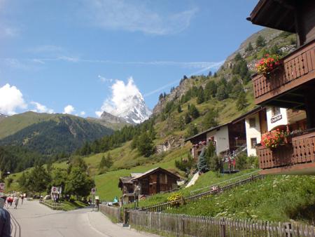 Zermatt и Матерхорн