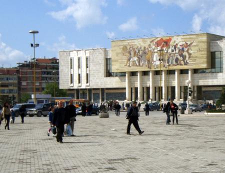 Площад Скендербег, Тирана