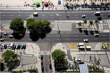 Тротоарите на Copacabana