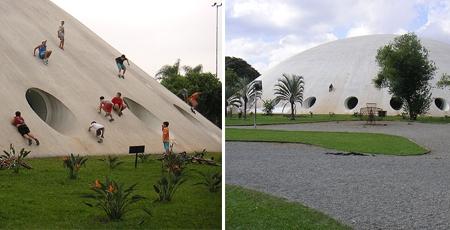 Паркът Ibirapuera в Сао Паоло, Оскар Нимайер