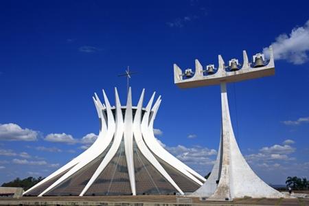 Катедралата в столицата Бразилия