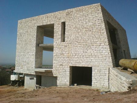 House stone facade