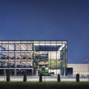 Офис сграда към шивашка фабрика, Плевен